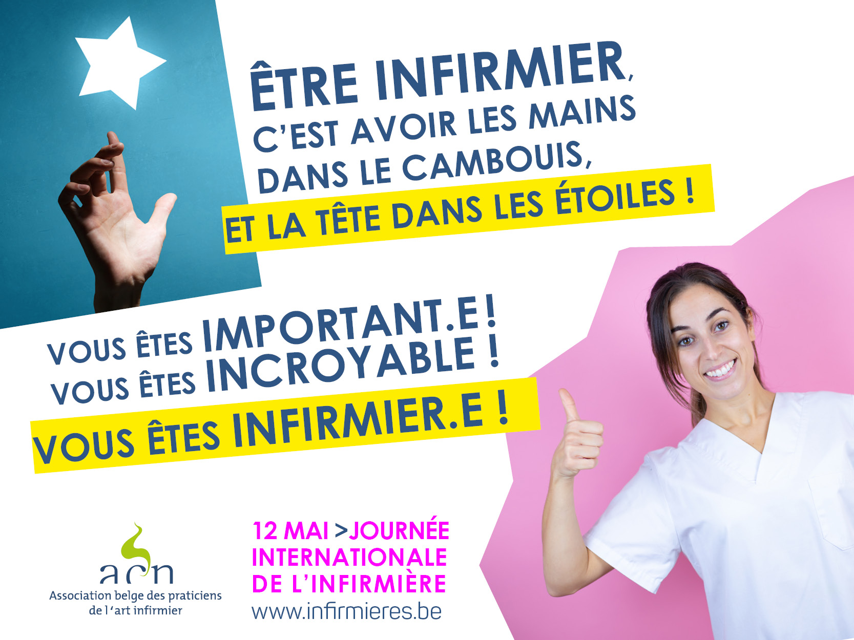 12 MAI 2020 JOURNEE INTERNATIONALE DE L'INFIRMIERE...