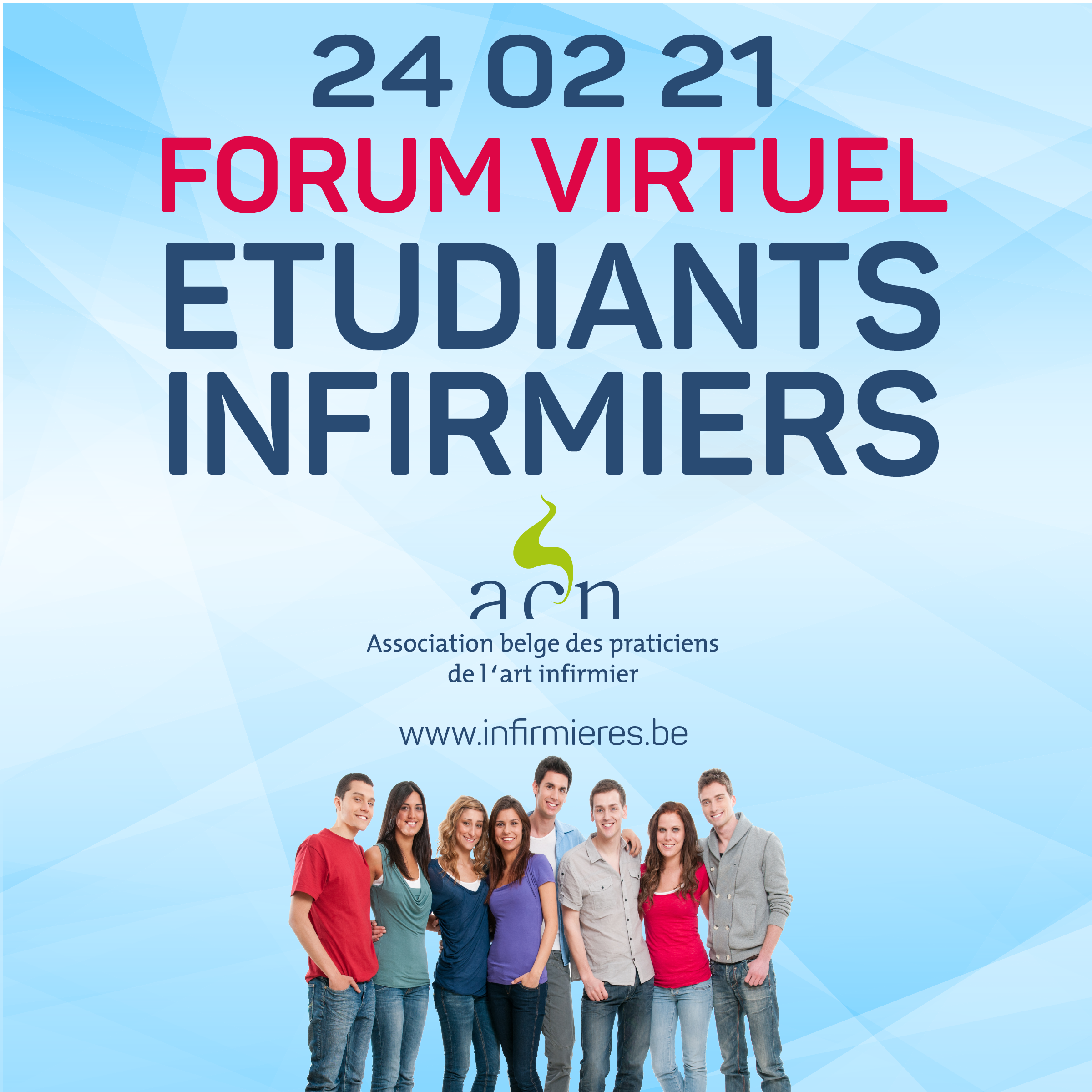 FORUM ETUDIANTS INFIRMIERS en virtuel 24 02 2021