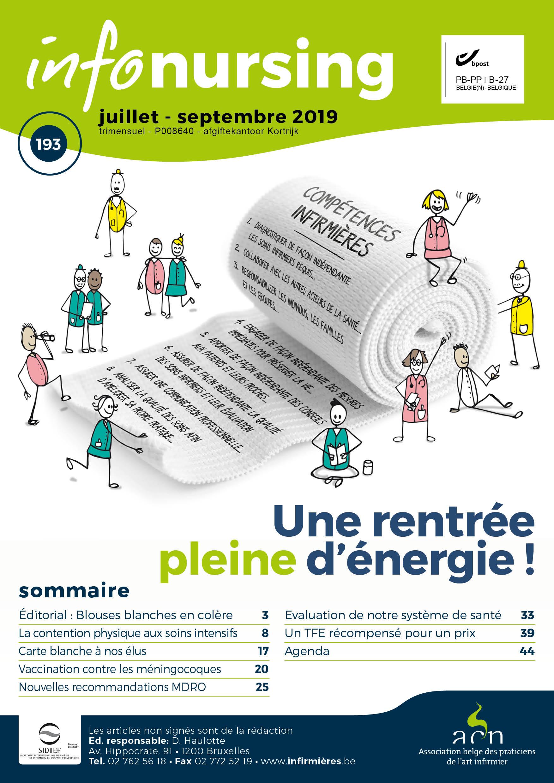Edito Info-Nursing 193 : Mardis des blouses blanche, infirmières en colère...