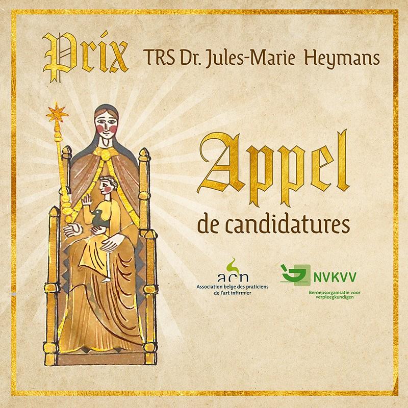 Le PRIX Jules-Marie Heymans est de retour en 2020 !
