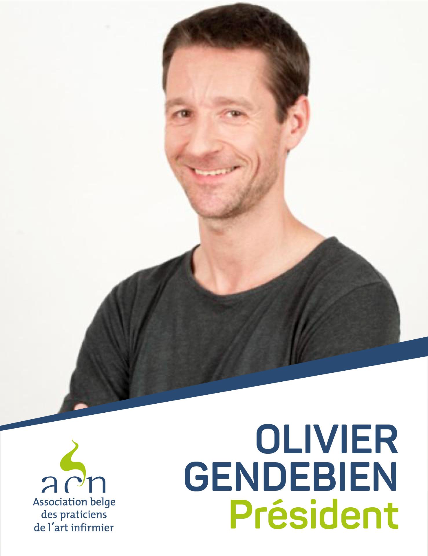 Olivier Gendebien, nouveau Président de l'acn