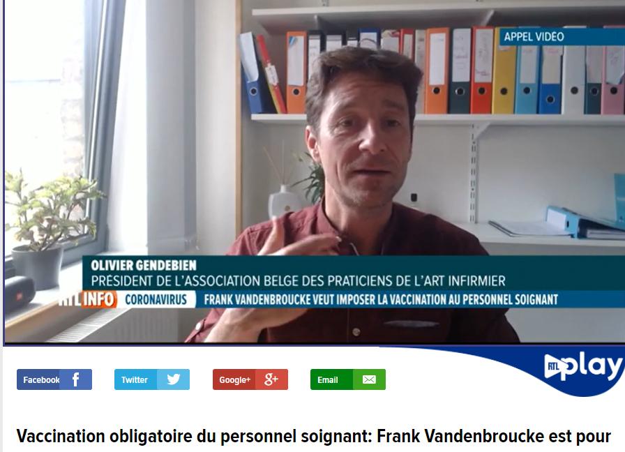 INTERVIEW VACCINATION OBLIGATOIRE DES SOIGNANTS
